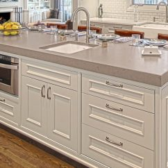 Kitchen Island Counter Touchless Faucet Large Profile Tops Benvenuti And Stein Glencoe