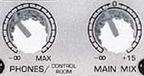 control room and main mix controls