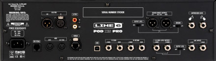 Line 6 POD X3 Pro back