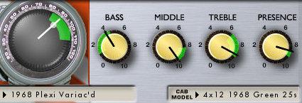 lincoln brewster amp settings variac hi gain