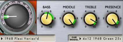 lincoln brewster amp settings variac low gain