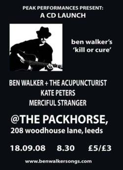 ben walker kill or cure