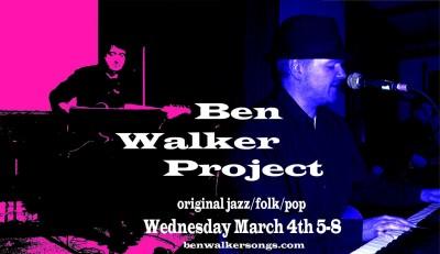 Ben Walker Gigs poster 2015