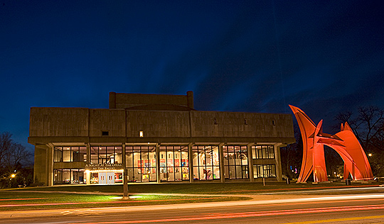 The Musical Arts Center, School of Music, Indiana University at Bloomington. Credit: http://newsinfo.iu.edu