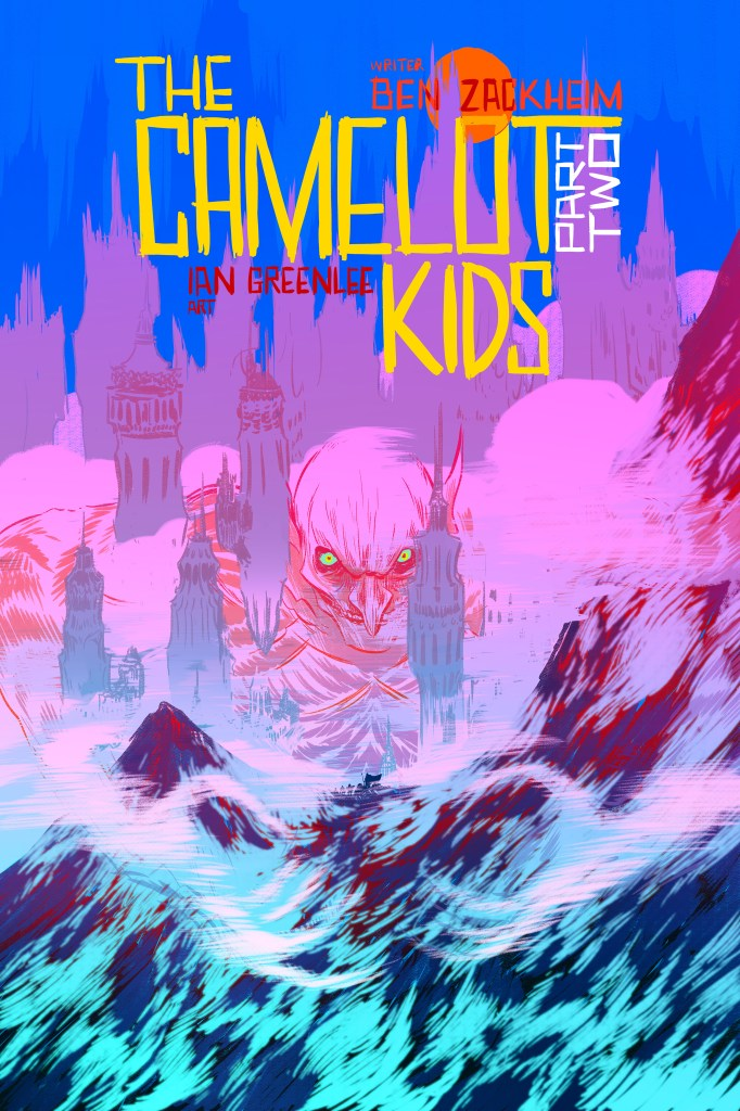 Nathan Fox cover illustrator of The Camelot Kids Part Two