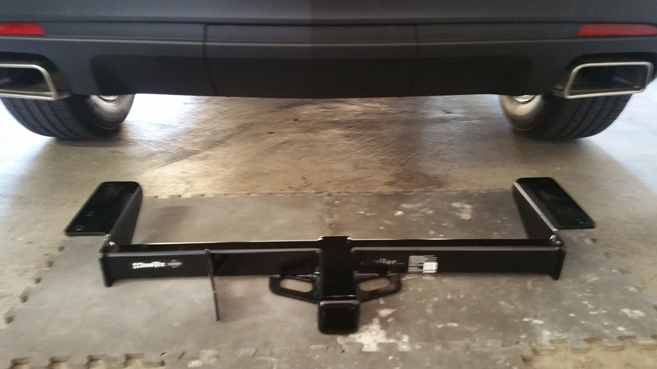 Trailer Hitch Install