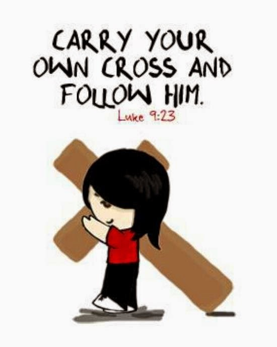 Let us carry our cross The Name of the LORD is a Strong