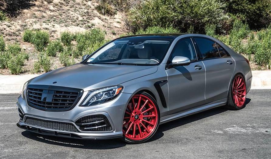 Forgiato Wheels Tunes Mercedesbenz S550 Benzinsidercom