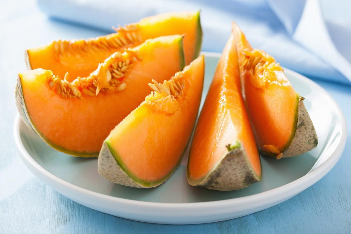 Cantaloupe Melon - Over 19 Vitaminer og Mineraler! What!