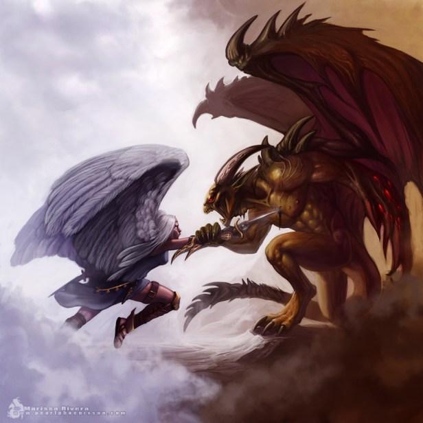 archangel_vs_demon_lord