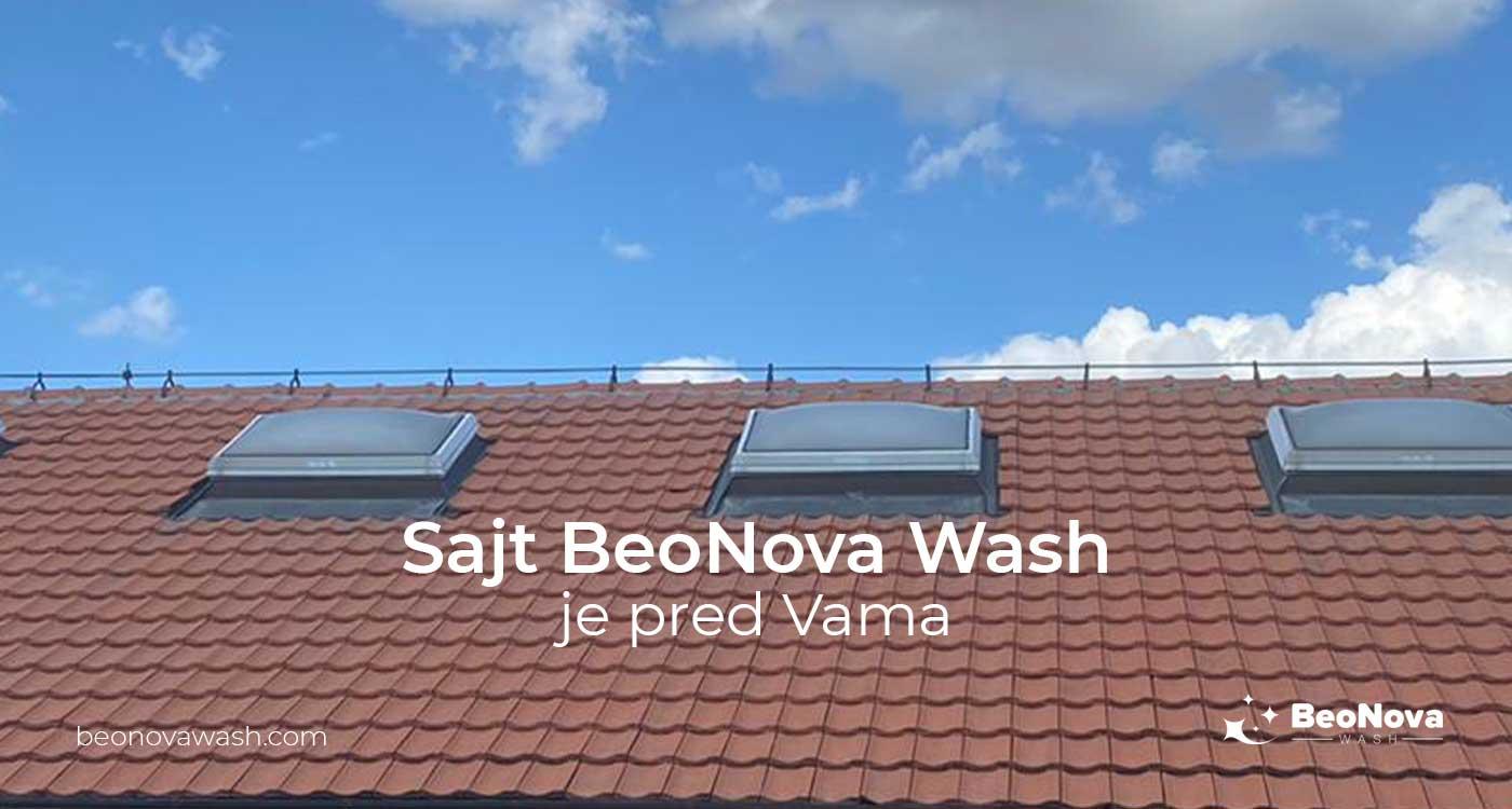 Sajt BeoNova Wash je pred Vama | BeoNova Wash