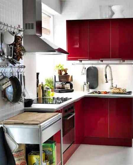 Small Kitchen Design 2x2
