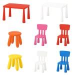 Ikea Mammut Kinder Tisch Stuhl Hocker Set Rosa Blau Garten Wohnen Ebay
