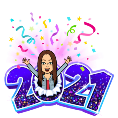 2021 with a emoji of Jodie Greer in the zero