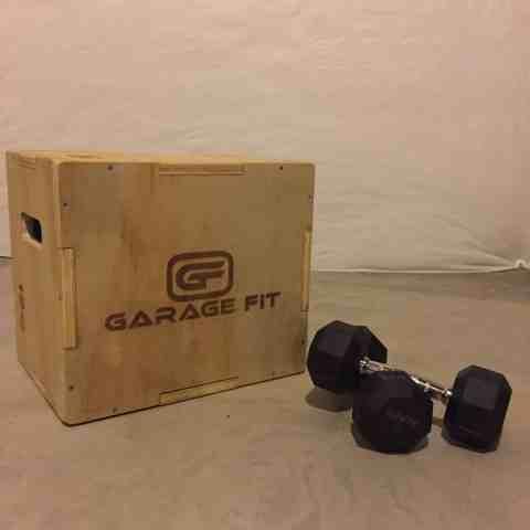 Plyo Box and weights