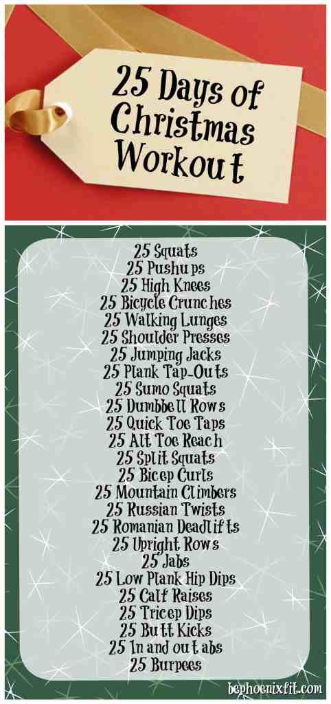 25 Days of Christmas Workout