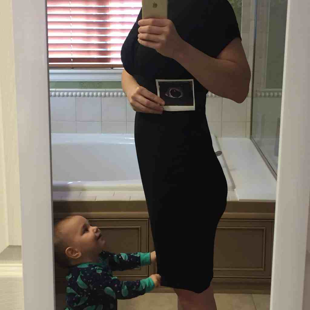 first trimester baby announcement ultrasound momblog