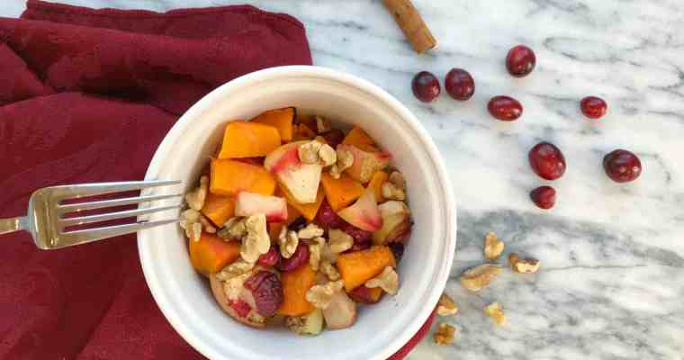 Baked Sweet Potato Apple Cranberry – Whole30 Compliant Recipe