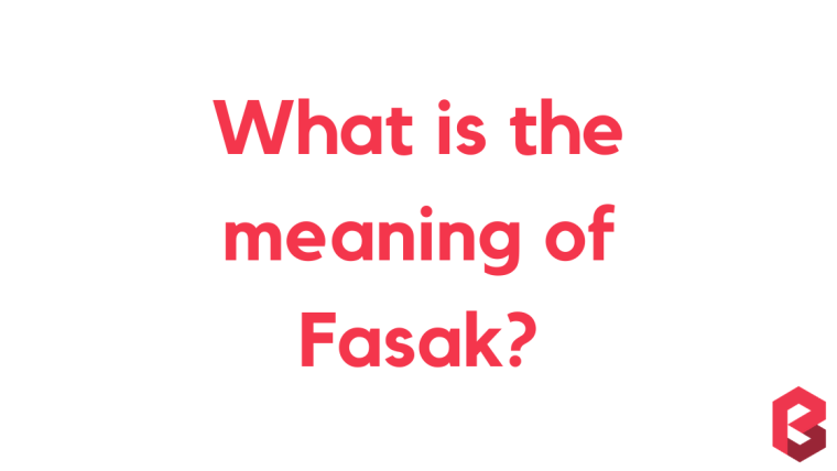 Fasak Meaning in Telegu, English, Hindi, Tamil and More