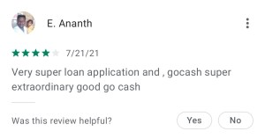 Go Cash: A Complete Review of This 1 Instant Loan App, You'll Love It!