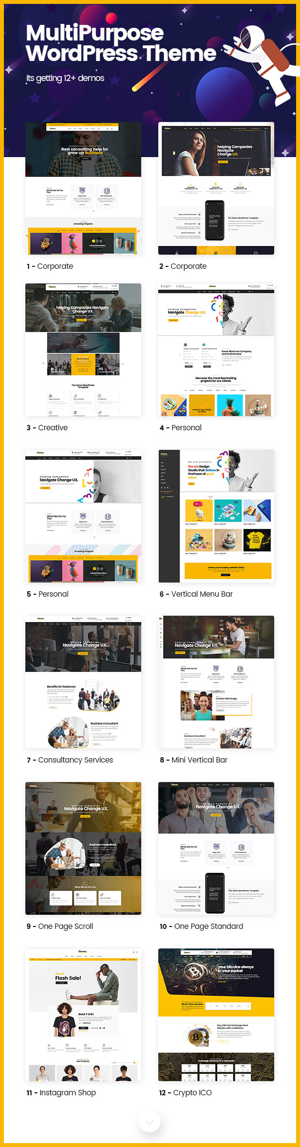 Dana - Corporate Business Multi-Purpose WordPress Themes - 2
