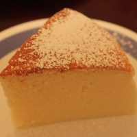 Japanese yogurt cotton cheesecake