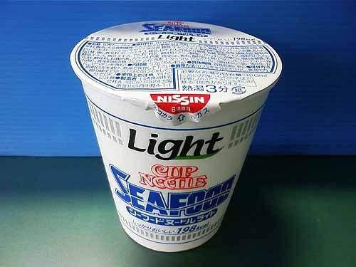 低卡海鮮口味(シーフードヌードル ライト)