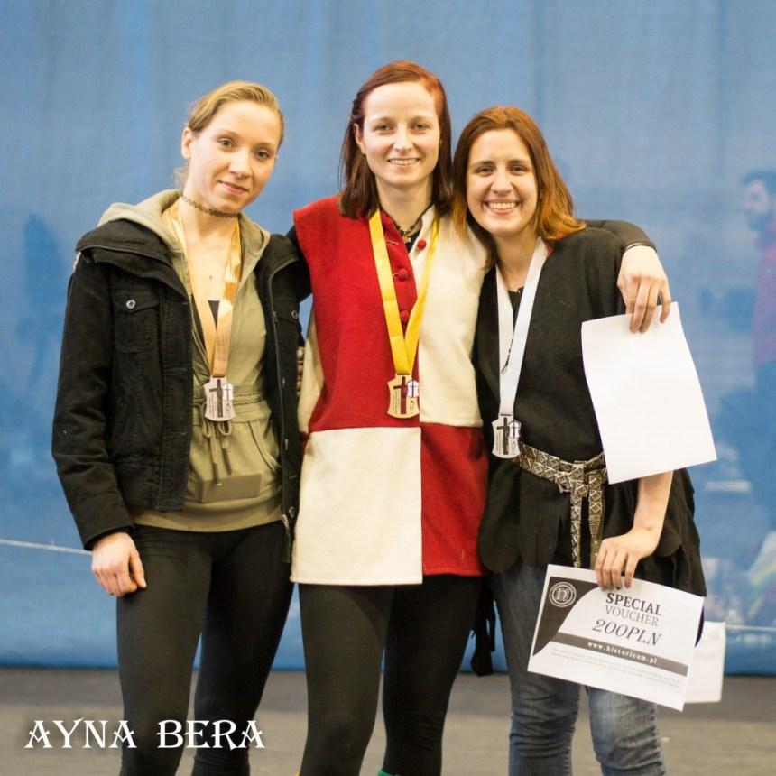 1. Denise Brinkmann 2. Kamila Henkelman 3. Agnieszka Lasota