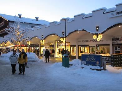 Seefeld street scene