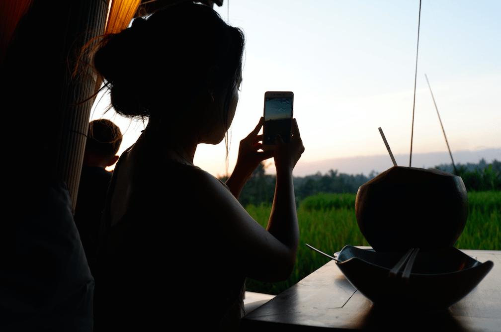 Sunset Spot in Ubud