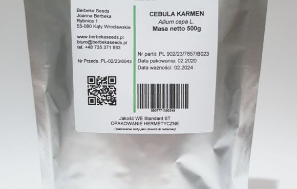 Cebula Karmen/ Allium cepa L. – 500g