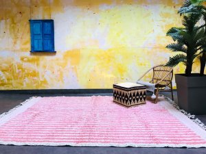 Custom size & color area rug, Authentic Moroccan Beni ourain wool carpet, Handmade
