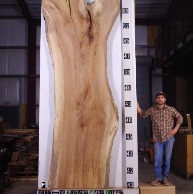 Spalted Pecan Lumber