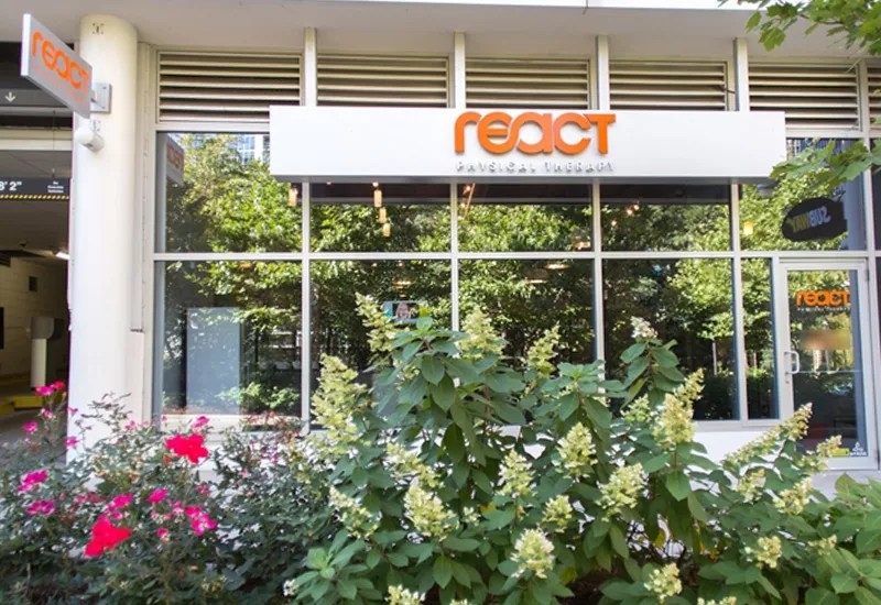 React Physical Therapy Lakeshore East