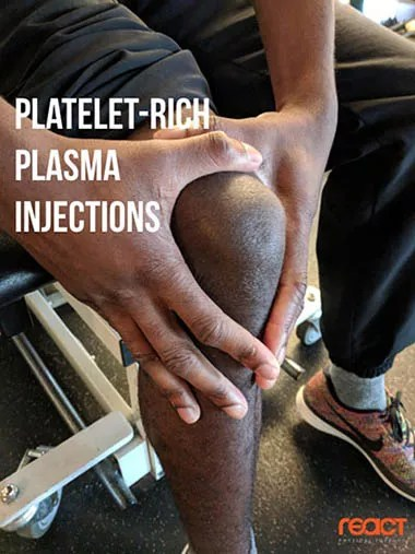 Platelet-Rich Plasma Injections