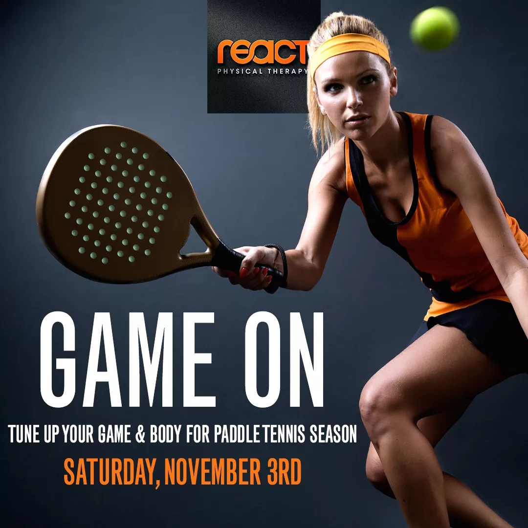 Get Ready for Paddle Tennis Season with React at Winnetka Park