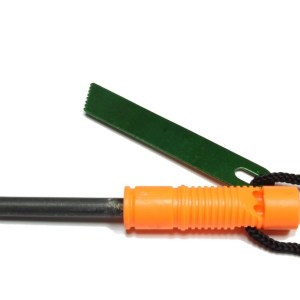2-IN-1 Flint Fire Starter and Whistle