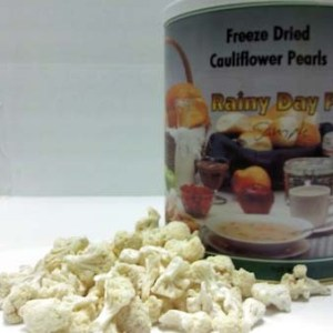 Cauliflower Freeze Dried