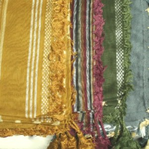 Shemagh Scarf Assorted Colors and Patterns - 3 PACK