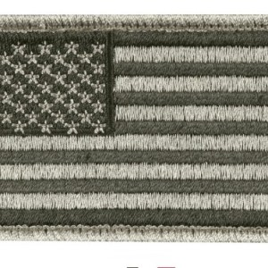 US Flag Patch - Foliage Green
