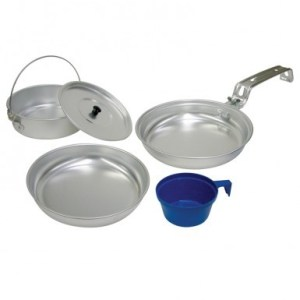5 Piece Aluminum Backpacker's Cook Set