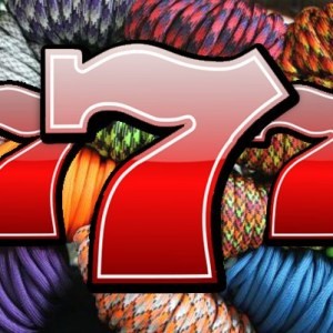 550 Paracord Lucky 7 Grab Bag (Seven 100 ft Rolls of 550 Paracord)