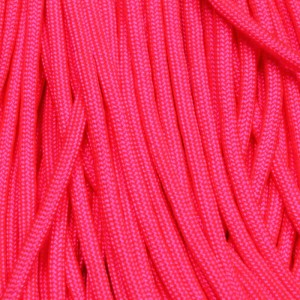 550 Paracord NEON Pink 100 ft Made in USA