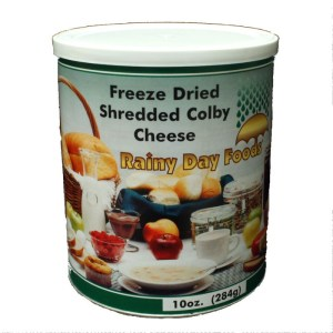 Cheese Colby Freeze Dried 2.5 can