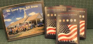 berean armed forces ministries picture frame and military gospel packets