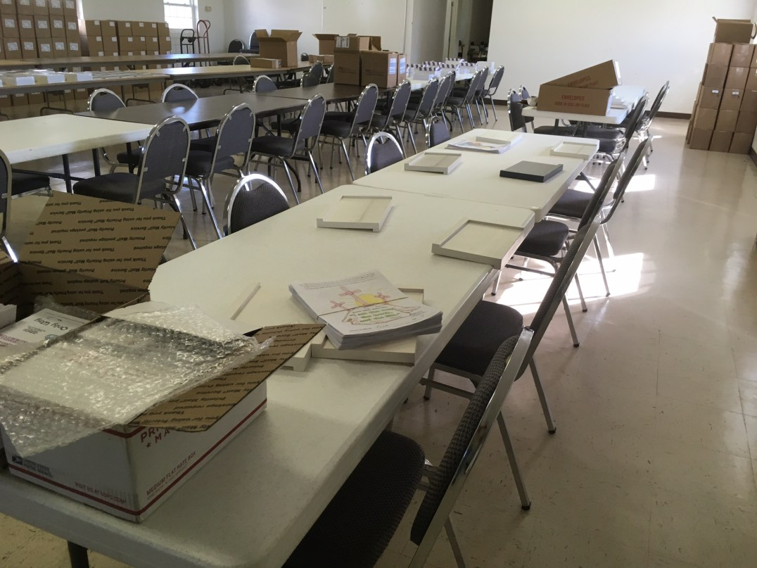 Glennville Collating Project Startup