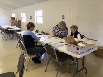 glennville georgia collating project for the troops 2018 military gospel packets berean armed forces ministry (img4)