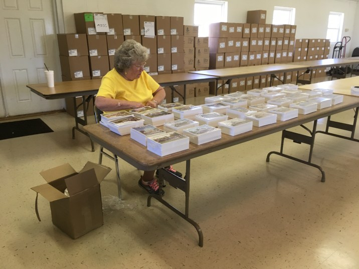 glennville georgia collating project for the troops 2018 military gospel packets berean armed forces ministry (img5)