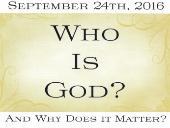 WhoIsGodConference