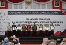 KPK dan Menteri BUMN Kerjasama Cegah Korupsi